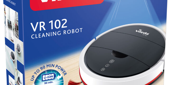 Robotdammsugare Vileda VR 102